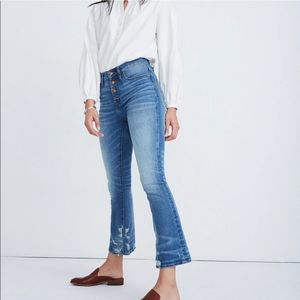 Madewell Demi Bootcut jeans